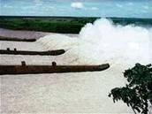 největší přehrada na světě Itaipu Dam