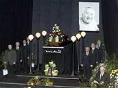 Na poh�bu Miroslava Horn��ka