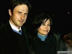 Courtney Coxov� a David Arquette
