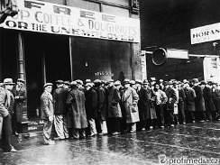 Hospodářská krize - vývařovna v Chicagu