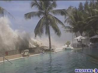 Tsunami zabíjely v Asii