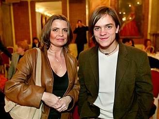 Ji�í Mádl s maminkou