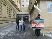 Kněz protestuje proti potratům