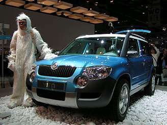 Skoda Yeti 1