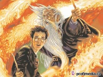 Harry Potter a Princ dvojí krve - britská obálka pro děti