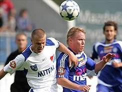 Olomouc - Ostrava: Jan Schulmeister (vpravo) a Pavel Besta