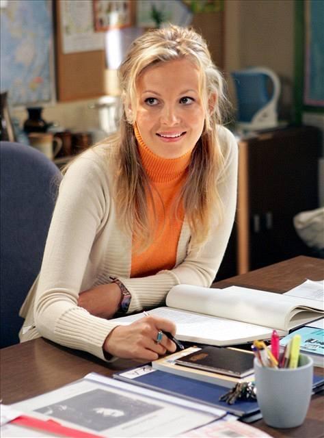 Michaela Badinková jako sympatická učitelka u seriálu Ulice