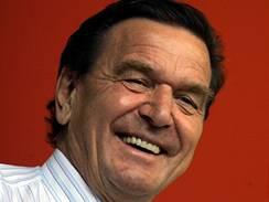 Gerhard Schröder v Recklinghausenu. (17. září 2005)