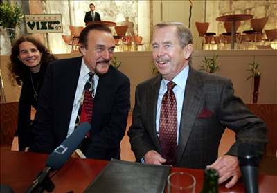 Václav Havel a Philip Zimbardo