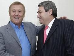 Vojtěch Filip a Miroslav Grebeníček