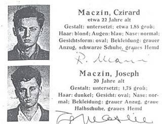 Zatykač na bratry Mašíny