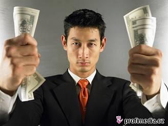 peníze, dolary