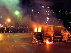 Pouliční nepokoje v pařížském Clichy, podzim 2005