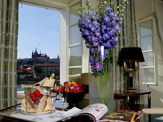 Prezidentské apartmá v hotelu Four Seasons.
