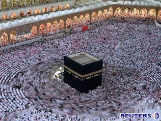 Mekka, posvátné místo muslimů.
