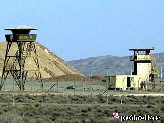 Íránské jaderné zařízení v Natanzu