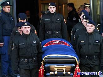 Pohřeb kosovského prezidenta Ibrahima Rugovy