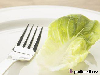 Jídlo, dieta hubnutí - ilustrační foto