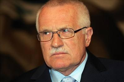 Václav Klaus vetoval zákon o registrovaném partnertsví