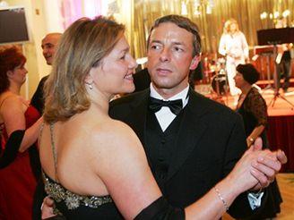 Pavel Bém na plese ČSSD
