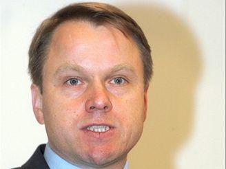 Martin Bursík představuje program Strany zelených.