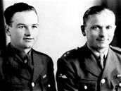 Parašutisté Jan Kubiš a Josef Gabčík