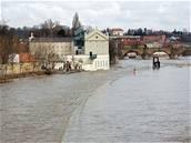Sovovy mlýny v Praze u Vltavy