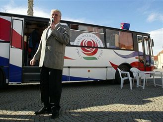 Miloš Zeman ve Vyškově