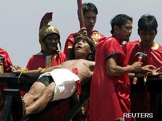 Oslavy velikonoc na Filipínách
