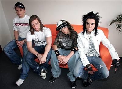 Kliknutím zobrazíte větší formát - Kapela Tokio Hotel v Praze
