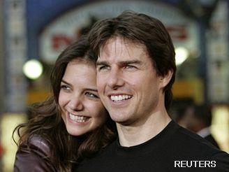 Tom Cruise a Katie Holmesová
