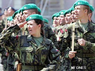 Noví vojáci přísahali na Hradě