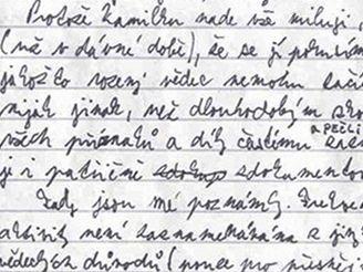 Úvod deníku Jakuba Procházky