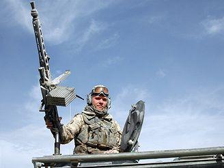 Mírové jednotky ISAF v Afghánistánu.
