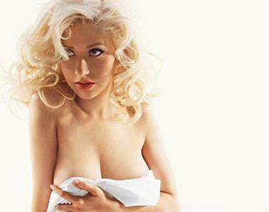 Kliknutím zobrazíte větší formát - Christina Aguilera se svlékla pro pánský magazín GQ
