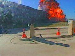Záznam z bezpečnostní kamery Pentagonu