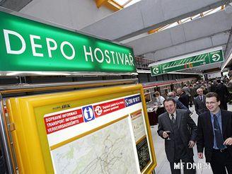 Nová stanice Depo Hostivař
