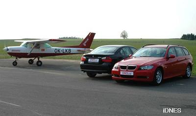 BMW 320d Touring a 318d Sedan