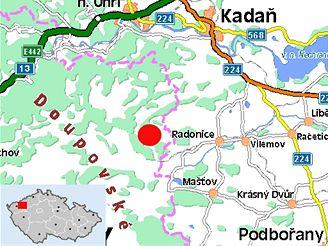 Letošní CzechTek by se měl uskutečnit nedaleko obcí Radonice a Mašťov