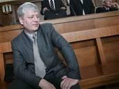Petr Smetka - Petr Smetka u Vrchního soudu 6. �ervna 2006.