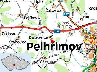 U Dubovice se srazilo osobní auto s autobusem
