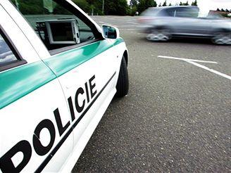 Policie vs. motorkář
