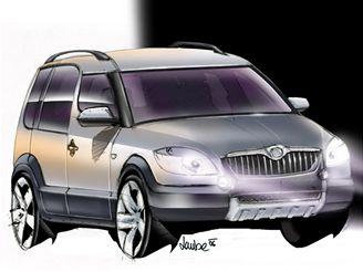 Škoda Roomster 4x4