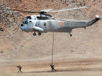 Cvičení jednotek NATO na Kapverdských ostrovech u pobřeží Senegalu