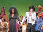 Michael Jackson a Diana Ross