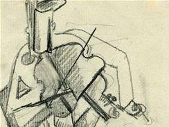 Otto Gutfreund - Hráč na housle