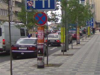 Bublan hájil body, jeho vůz zatím stál na zákazu - iDNES.cz