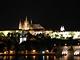 Noční pohled na Pražský hrad