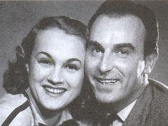 Adina Mandlov� a Raoul Schr�nil