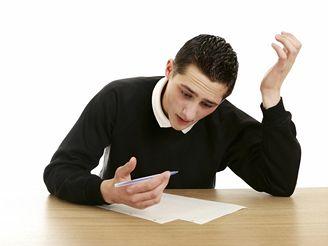 zkouška, reparát, učení, písemka, starosti, student